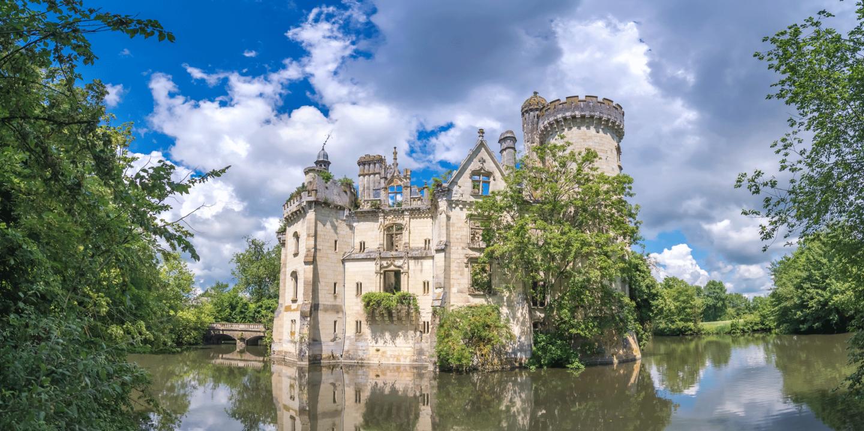 Cinq ruines qui font voyager à travers l'histoire de France