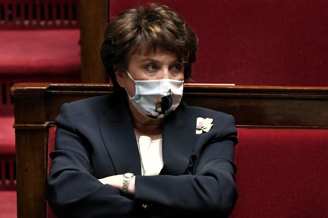 Roselyne Bachelot, à l'Assemblée nationale, le 19 janvier 2021.