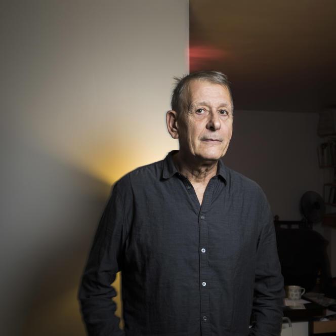 L'écrivain Richard Morgieve, à Paris, en 2018.