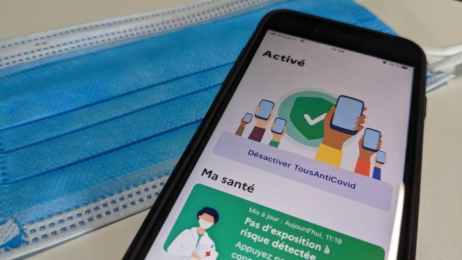 L'application TousAntiCovid est l'application officielle du ministère de la santé pour lutter contre la pandémie.