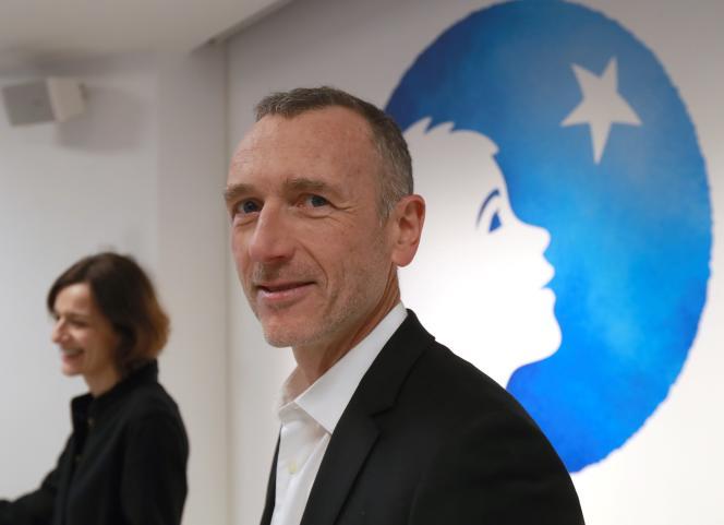Emmanuel Faber, PDG de Danone, à Paris, le 19 février 2019.