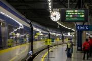 Dans la gare de Bruxelles, le 31 décembre 2020.