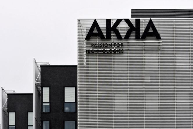 Le siège d'Akka Technologies à Blagnac (Haute-Garonne), le 29 décembre 2020.