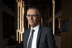 Le directeur général de Stellantis, Carlos Tavares, à Paris,le 8 novembre 2019.