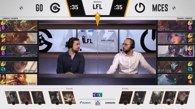 La troisième édition de la compétition de la Ligue française de «League of Legends» a commencé le 19 janvier 2021 sur la chaîne Twitch OTP LoL.