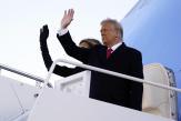 Les adieux de Donald Trump avant l'investiture de Joe Biden