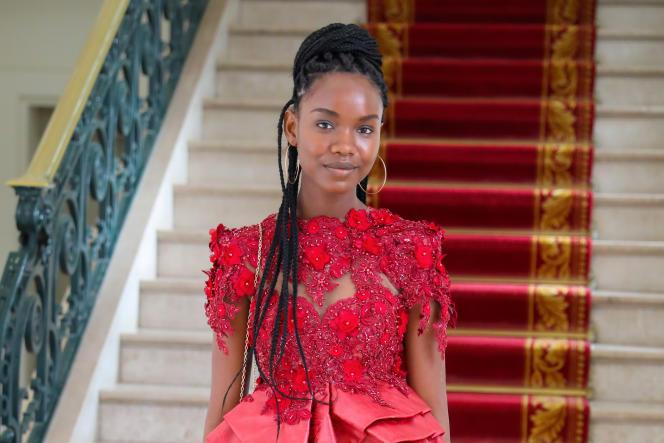 L'étudiante sénégalaise Diary Sow, à Dakar, en août 2020. Des sources proches de l'enquête ont indiqué à l'AFP que la piste d'une disparition volontaire était privilégiée.