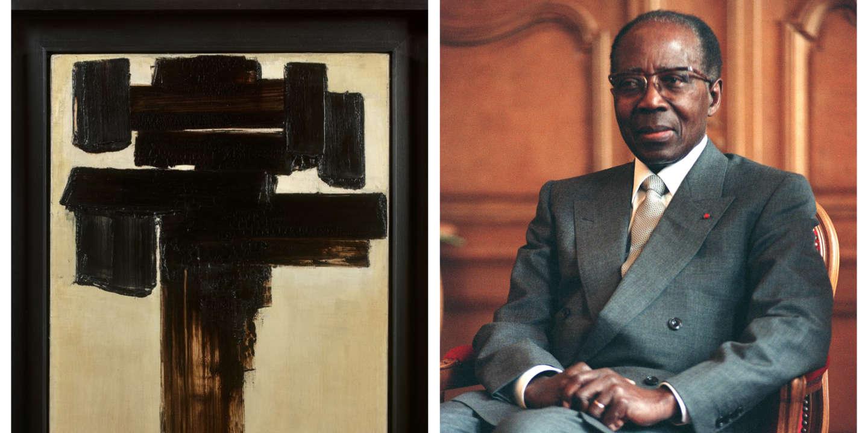 Vente aux enchères: ce tableau de Soulages qui fit «vaciller» Léopold Sédar Senghor