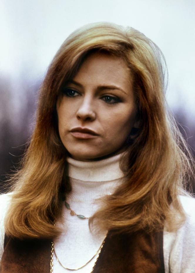 Nathalie Delon en janvier 1969.