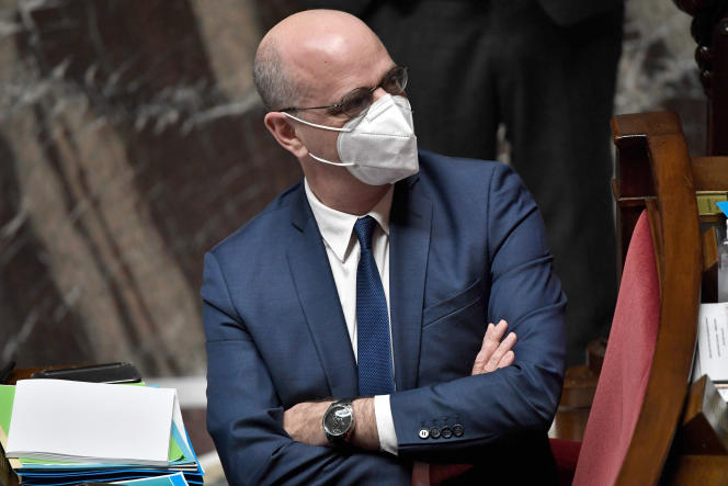 Le ministre de l'éducation nationale, Jean-Michel Blanquer, à l'Assemblée nationale, le 19 juin 2020.