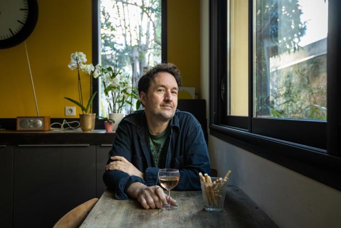 Guy Delisle, auteur de BD, à son domicile à Montpellier, le 15 janvier.