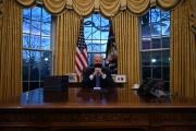 Le président des Etats-Unis, Joe Biden, à la Maison Blanche, le 21janvier 2021.