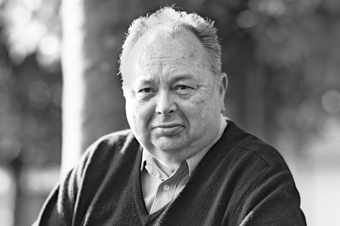 Jean Graton, auteur de la série« Michel Vaillant» (photo non datée).