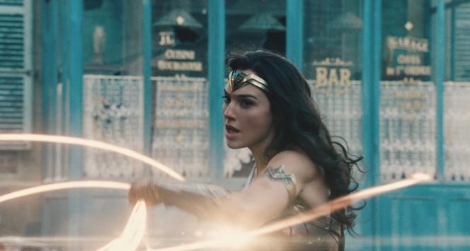 L'actrice Gal Gadot dans le rôle-titre de «Wonder Woman» (2017), de Patty Jenkins.