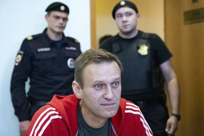 Alexeï Navalny, le 22 août 2019.