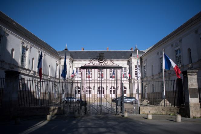 Hôtel de ville de Nantes, en janvier 2020.