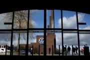 Le site Volkswagen de Wolfsburg, en Allemagne, en février 2020.