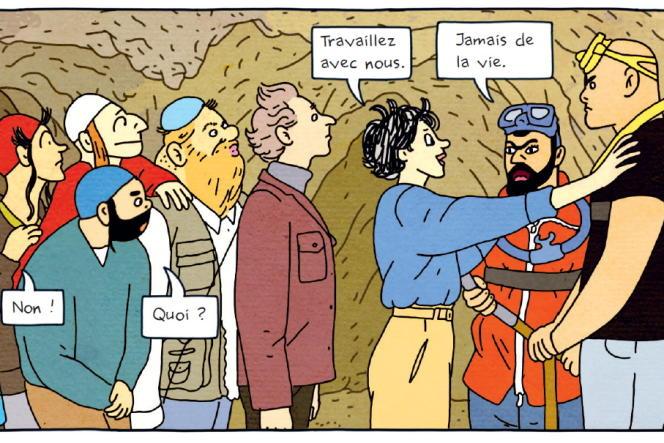 « Tunnels », de Rutu Modan.