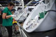 L'usine de fabrication du robot cuiseur Thermomix, à Cloyes-sur-le-Loir (Eure-et-Loir), le 19 mai 2017.