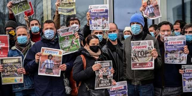 Le journal «L'Equipe» retrouve le chemin des kiosques après quatorze jours de grève