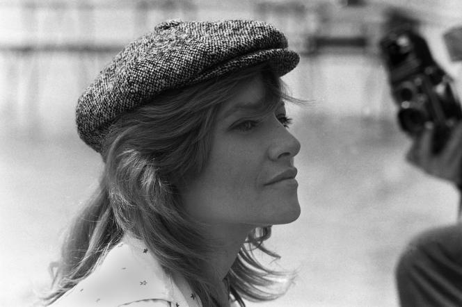 Nathalie Delon en 1993.