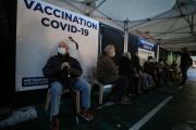 Vaccination de personnes âgées à Nice, le 22janvier.