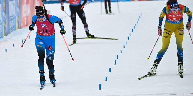 Biathlon: doublé historique pour Julia Simon en mass start