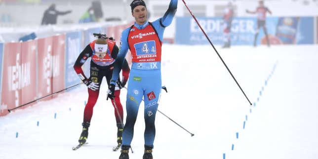 Biathlon: les Bleus signent une nouvelle victoire en relais