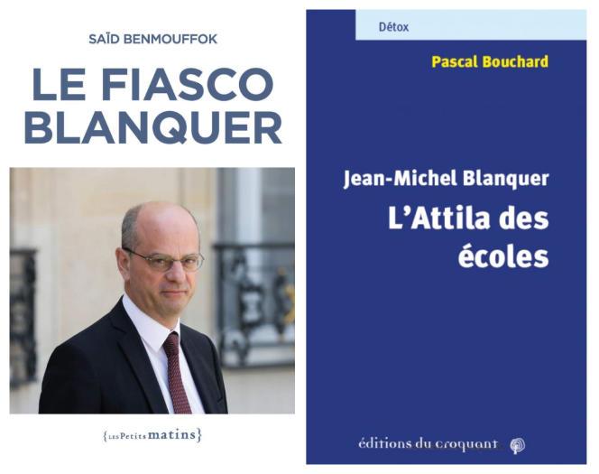 Deux essais vent debout contre Jean-Michel Blanquer