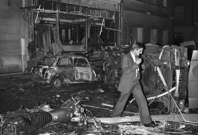 Le 3 octobre 1980, à Paris.