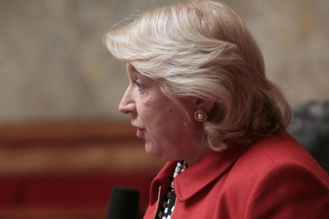 Marie-Jo Zimmermann à l'Assemblée nationale, en 2016.