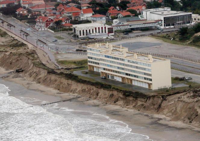L'immeuble Signal, à Soulac-sur-Mer,le 5 janvier 2014.