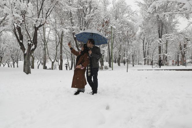 A Téhéran, le 19 janvier.