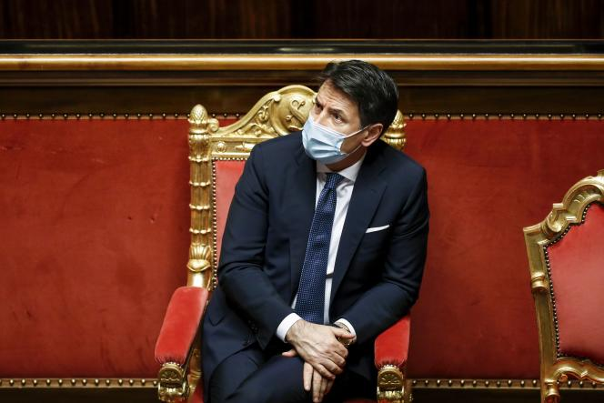 In Italy, Giuseppe Conte resigns to try to stay in place