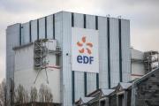La centrale au charbon d'EDF, au Havre (Seine-Maritime), le 10 janvier 2020.