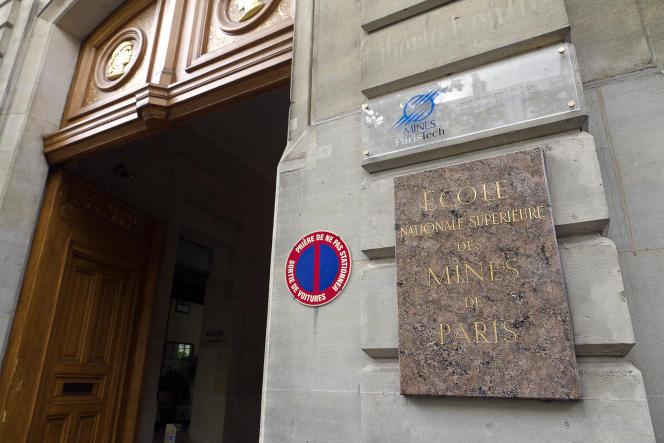 L'école des Mines, à Paris.