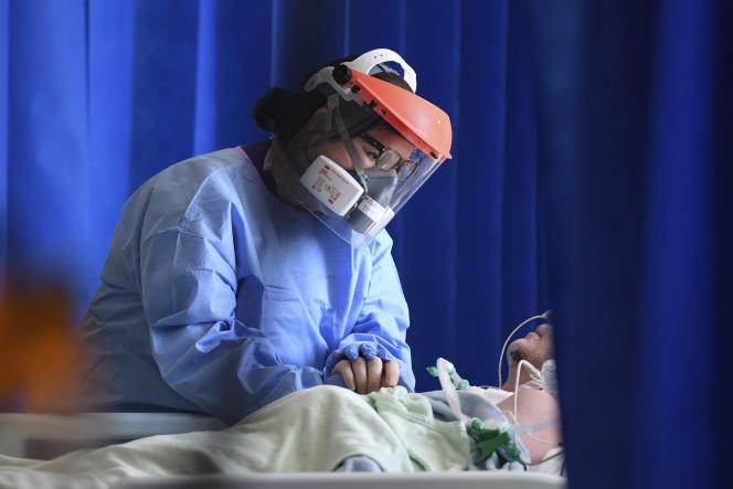 Dans un hôpital, à Cambridge (Royaume-Uni), le 5 mai 2020.