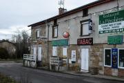 Un restaurant, tabac et relais routier fermé, à La Talaudière (Loire), le 23janvier 2021.