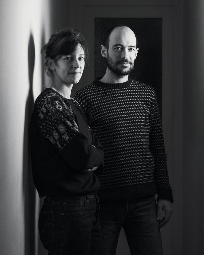 Tania Grawitz et Lelio Stettin, chez eux à Paris, le 18 janvier.