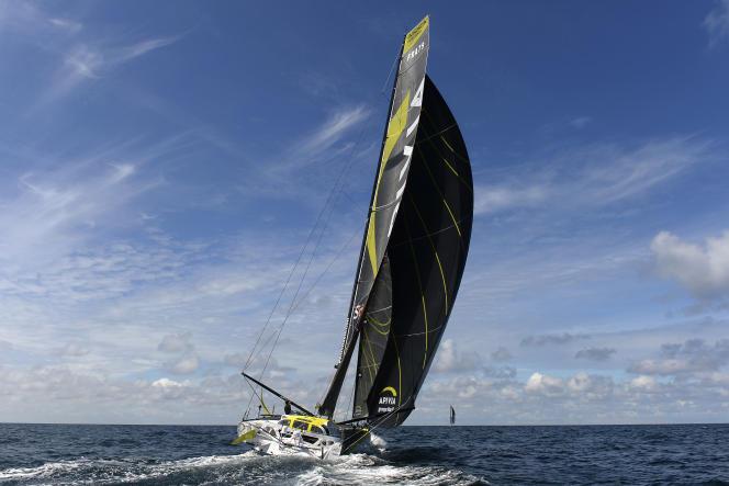 Charlie Dalin (Apivia) devrait franchir la ligne en premier. Mais n'est pas assuré de remporter le Vendée Globe.