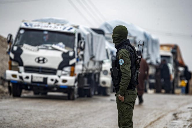 The Islamic State organization in ambush in the Syrian desert