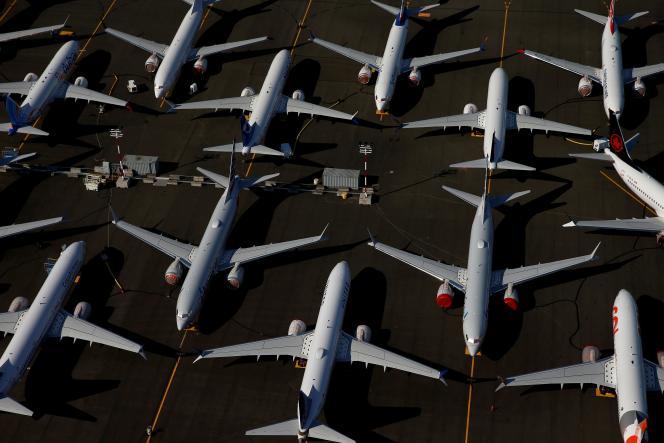 Des Boeing 737 MAX, à Seattle (Washington), le 1er juillet 2019.