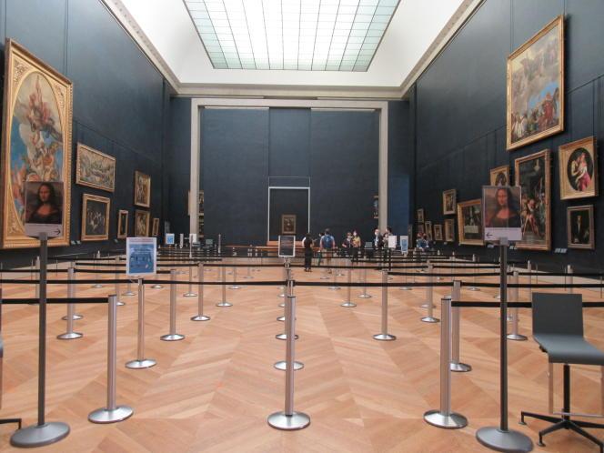 Au musée du Louvre, à Paris, en juin 2020.