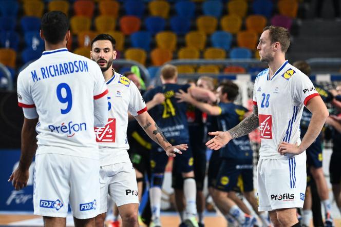 Hugo Descat, Valentin Porte et les Bleus tombent de haut : ils ne seront pas en finale du Mondial égyptien, après leur défaite contre la Suède, vendredi 29 janvier.