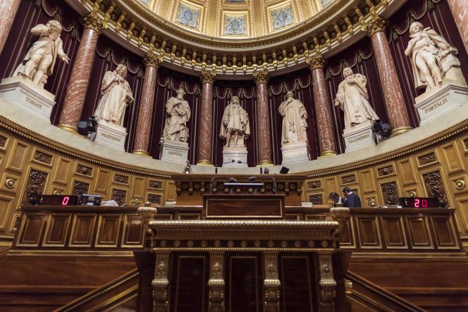 Au Sénat, le 17 novembre 2016.