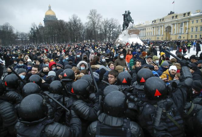 New day of protests in Russia at the call of the opponent Alexei Navalny