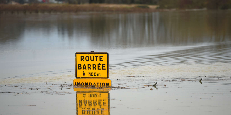 L'axe TGV Bordeaux-Hendaye coupé par des inondations dans les Landes