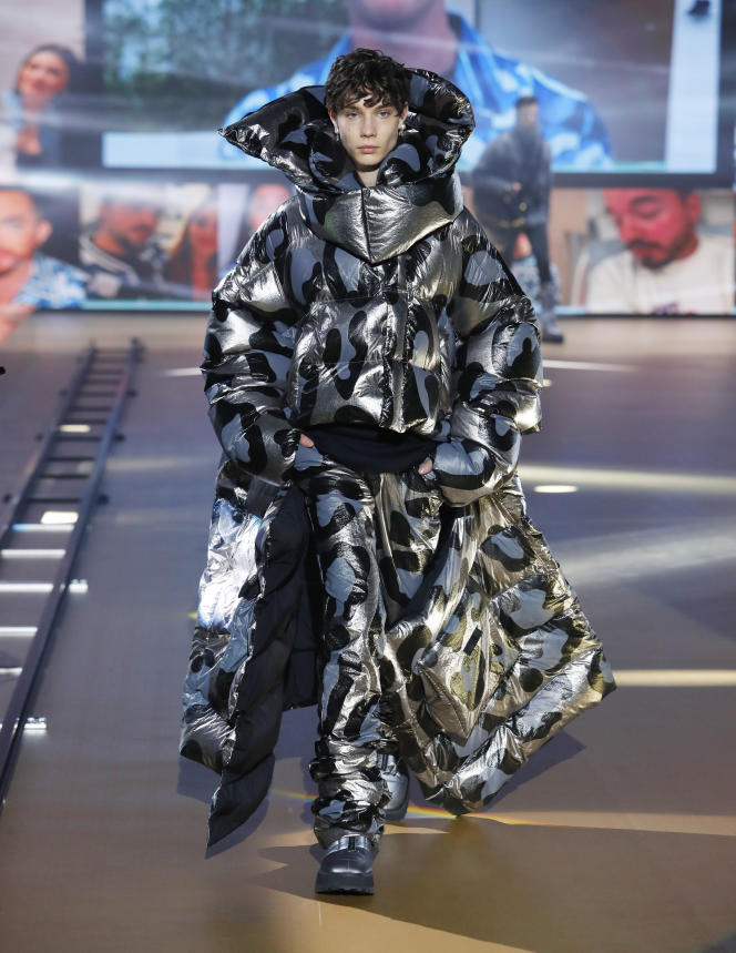 Dolce & Gabbana homme automne-hiver 2021-2022.