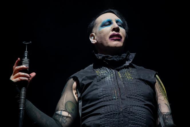 Marilyn Manson au festival Astroworld, au NRG Stadium, àHouston (Texas),le 9 novembre 2019.