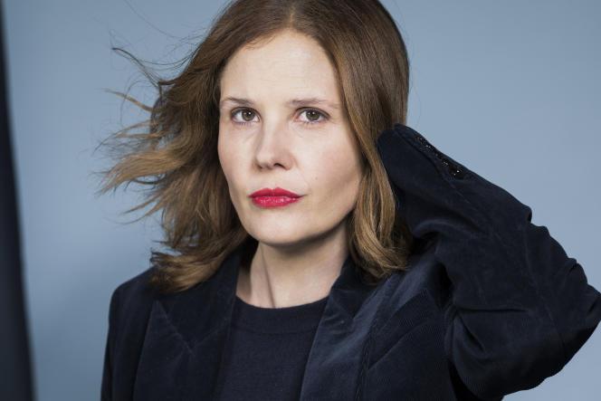 La réalisatrice et scénariste Justine Triet, à Paris, enfévrier 2020.